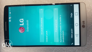 LG G3 D855 32GB WHITE STANJE 10/10