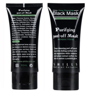 BLACK MASK CRNA MASKA ZA LICE SHILLS 50 ML
