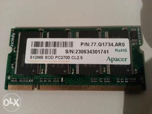Ram memorija za laptop