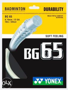 YONEX BG65 - badminton špan
