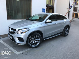 MERCEDES GLE COUPE 350 D 4 MATIC AMG LINE