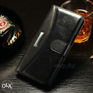 Samsung Galaxy Note 5 Preklopna Futrola Crna