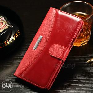 Samsung Galaxy Note 5 Preklopna Futrola Crvena