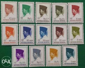 INDONESIA 1966 - Poštanske marke - 2155 - čiste