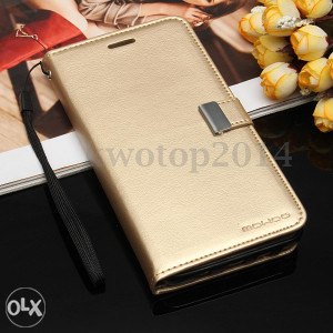 Samsung Galaxy Note 5 Futrola Preklopna Zlatna