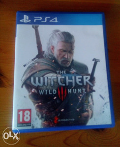 The Witcher 3 Wild Hunt ( PS4 Playstation 4 )