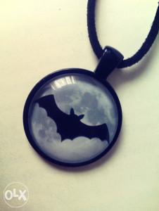 Goth ogrlica sa šišmišom, choker, gothic