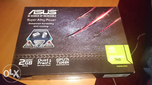Asus Nvidia Geforce GT 740   GT740