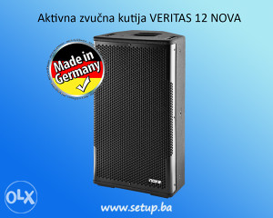 Aktivna zvučna kutija VERITAS 12 NOVA