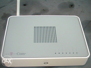 Thomson TG 782i Wirelles router