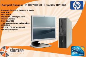 KOMPLET RACUNAR HP DC 7900 MONITOR HP 1950