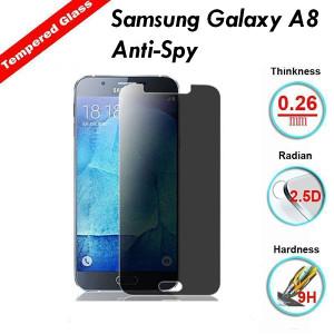 Samsung Galaxy A8 Anti-Spy Tempered Glass