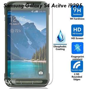 Samsung Galaxy S4 Acitve i9295 Tempered Glass