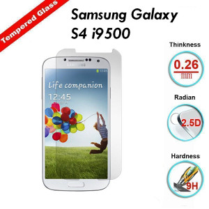 Samsung Galaxy S4 Tempered Glass