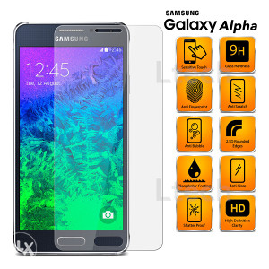 Samsung Galaxy Alpha Tempered Glass