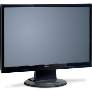 "Fujitsu siemens 22"" wide screen glossy black"