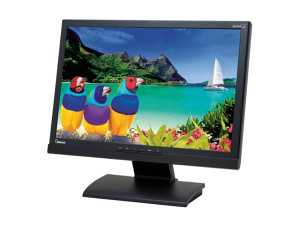 "Optiquest lcd 22"" wide screen boja crna"