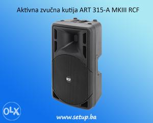 Aktivna zvučna kutija ART 315-A MKIII RCF