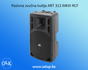 Pasivna zvučna kutija ART 312 MKIII RCF