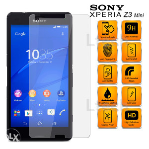 Sony Xperia Z3 Compact Mini Tempered Glass