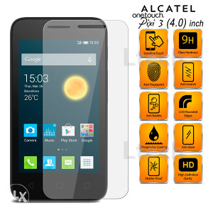 Alcatel One Touch Pixi 3 Tempered Glass