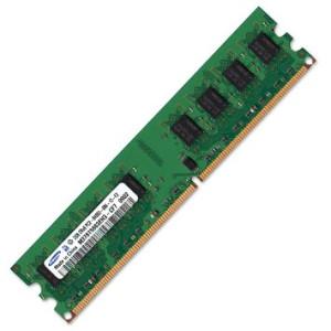 RAM 3X 2GB DDR2 400MHz