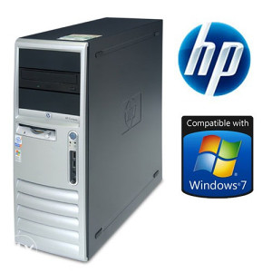 HP pentium HT,1.5 gb ram,80 gb disk,win 7