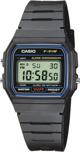 Casio F-91w-1yef (33.20mm)