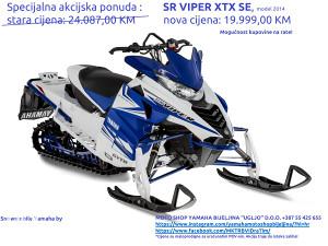 MOTORNE SANKE YAMAHA SR VIPER X-TX SE