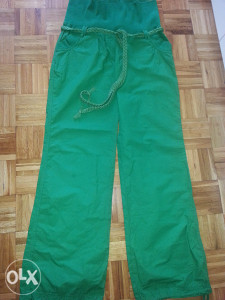 Zelene hlace siri model sa gumom