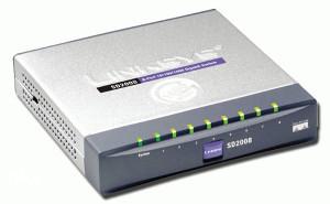 SWITCH  LINXYS SD2008 8 portni 1Gb