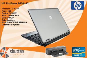Laptop HP ProBook 6450b i3