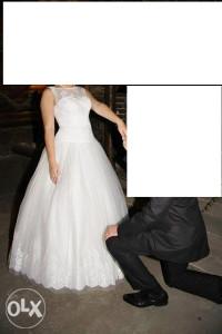 vjenčanica sa naramenicama princess