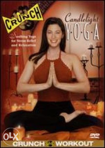 Crunch - Candlelight Yoga - DVD