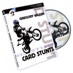 Card Stunts by Gregory Wilson -DVD