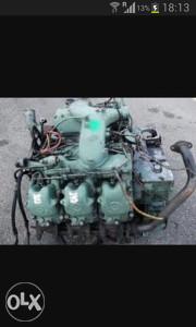 Motor mercedes(klip,klipnjace,radilica,bregasta osovina
