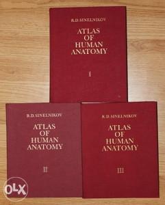 Atlas of Human Anatomy 1-3 /PDF/ (R.D. Sinelnikov)