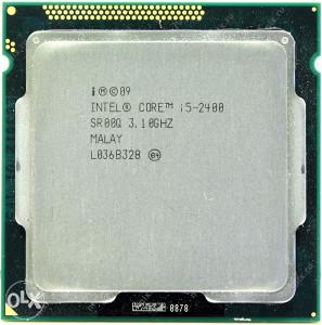 i5-2400 QuadCore Procesor 3.1-3.4 GH