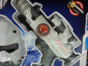 STAR WARS SET MASKA PISTOLJ