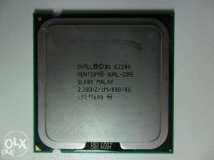 Intel Dual Core E2200 (1M Cache, 2.20 GHz, 800 MHz FSB)