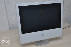 "Apple iMac A1207 ""core2duo"" 2,16 ghz 20 inch"
