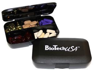 Pill Box Biotech crna kutijica