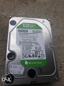 Hard disk sata za racunar 640GB