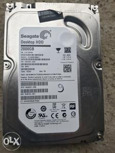 Hard disk sata za racunar 2tb (2000gb sata III)