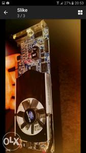 Graficka kartica maticna ploca RAM pc dijelovi oprema