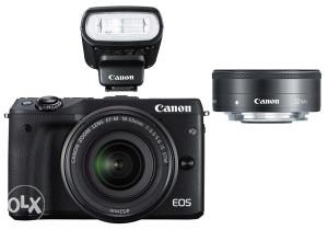 Canon EOS M3 SPECIJALNA 3-kit kombinacija - PCFOTO
