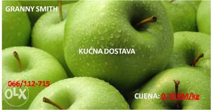 Organska, ne prskana  jabuka