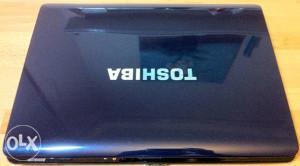 Laptop Toshiba, Intel Core 2 Duo, web camera