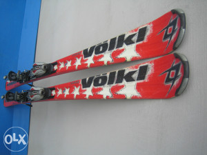 Skije Volkl Supersport 168cm