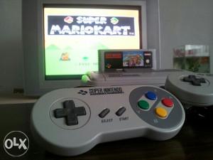 Super Nintendo & Super Mario Kart